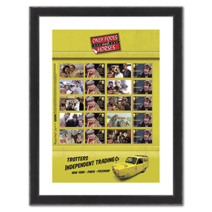 Only Fools & Horses Collectors Sheet Framed Edition