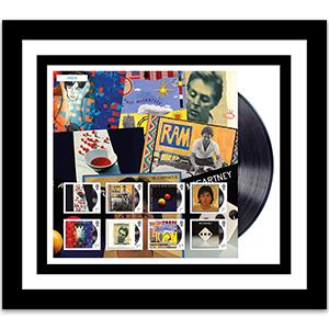 Album Art Fan Sheet Framed Edition