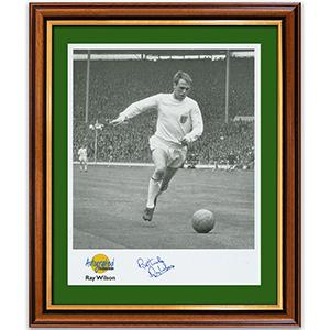 Ray Wilson Photograph and Signature - Framed