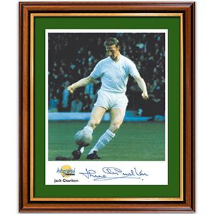 Jack Charlton Photograph and Signature - Framed