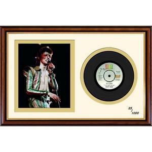 Framed David Bowie Vinyl