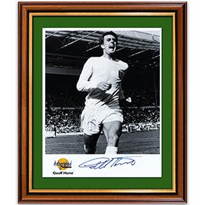 Sir Geoffrey Hurst - Framed Photograph and Signature