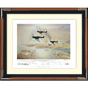 George Cross Island Association 60th Anniversary Limited Edition Print