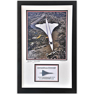 Concorde from Concorde Framed