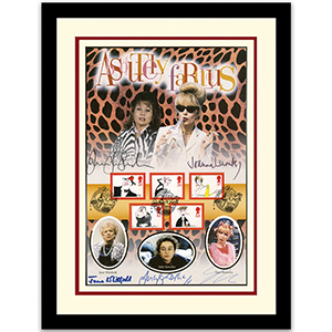Absolutely Fabulous Framed Collectible - Signed by the stars