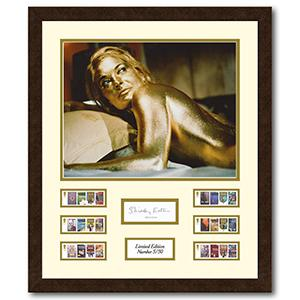 Shirley Eaton Signed Framed Collectable