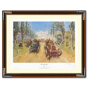 The Grand Brie - Signed Framed Print