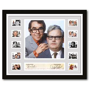 The Two Ronnies Signed Framed Collectable
