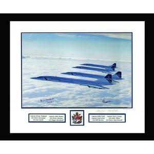 Concorde Framed Signed Print