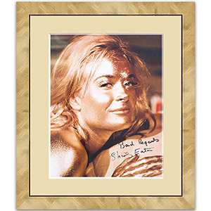 Shirley Eaton Signed Photograph - Framed