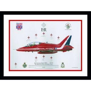 2012 Red Arrows Print - Framed and Signed