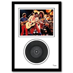 Queen Framed Vinyl