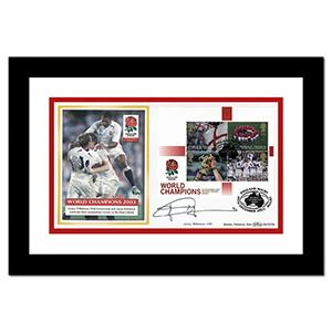 2003 World Champions Cover - Signed by Jonny Wilkinson (Framed)