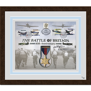 Battle of Britain Cover - Signed and Framed