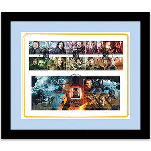 Game of Thrones Cover Framed