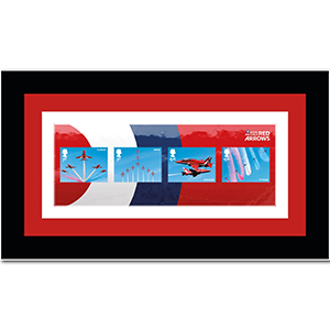 Red Arrows M/S Framed