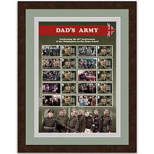 Dad's Army Generic Sheet Framed