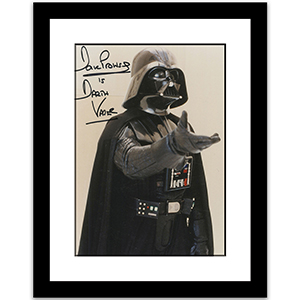 Darth Vader - Dave Prowse Signed Edition