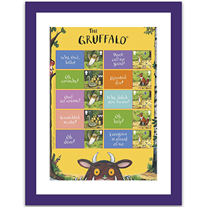 Gruffalo Generic Sheet Framed