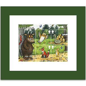 Gruffalo Framed Miniature Sheet
