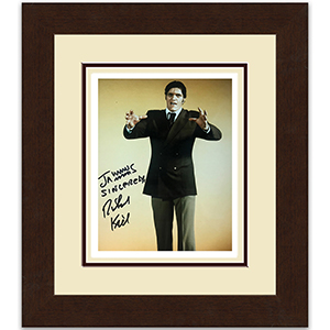 Richard Kiel 'Jaws' Signed Photo framed