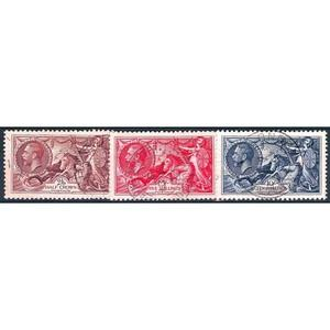 1934 Re-engraved seahorses 3v.