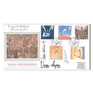 1995 VE Day - Signed by Dame Vera Lynn, Annand, Watkins & Wilson