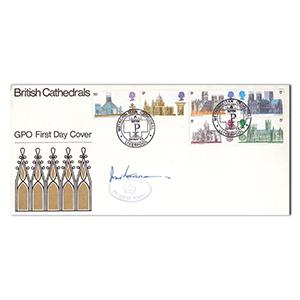 1969 British Cathedrals Metro - Signed by John Stonehouse
