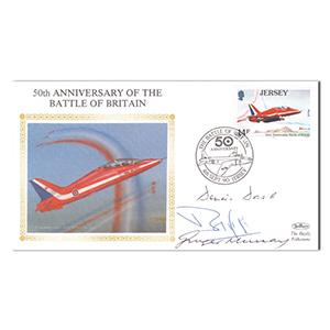 1990 50th Anniversary B.O.B. - Signed by 3 Veteran Pilots