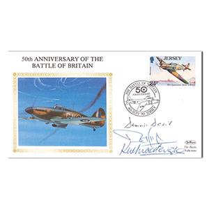 1990 50th Anniversary of B.O.B. - Signed by 3 Veterans