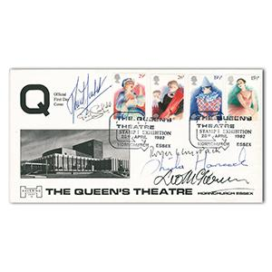 1982 Europa British Theatre - Signed David Suchet, Sheila Hancock and 3 Others