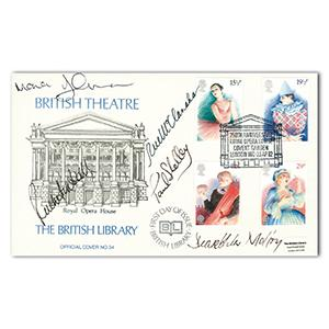 1982 British Theatre - The British Library - Signed Ruthie Henshall, Rue McClanahan and 3 Others