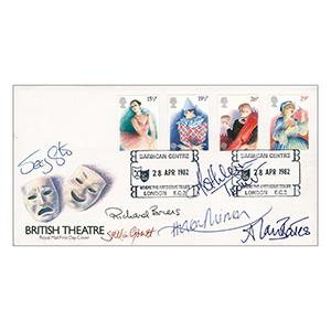 1982 British Theatre - Signed by Kathleen Turner, Helen Mirren, Richard Briers and 3 Others