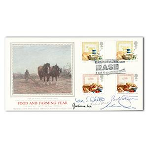 1989 Food & Farming - Signed by Ian S. Watson and 4 Others