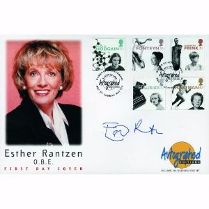 1996 Women of Achievement. Signed Esther Rantzen.