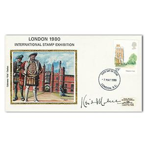 1980 Hampton Court - Signed by Keith Michell