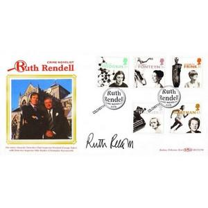 1996 Crime Novelist, 'Inspector Wexford' - Signed Ruth Rendell