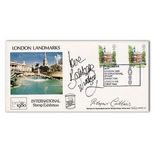 1980 Landmarks - Signed Bernard Cribbins and Barbara Windsor