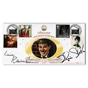 1999 Entertainers - Signed by Elaine Stritch and Luise Rainer