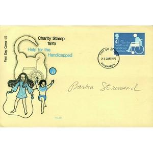 1975 Charities - Signed Barbra Streisand