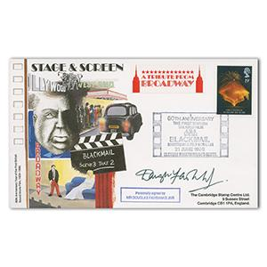 1989 Film Anniversary - Signed by Douglas Fairbanks Jnr.