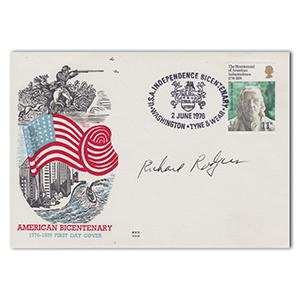 1976 American Bicentenary - Signed by Richard Rogers