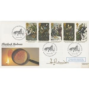 1993 Sherlock Holmes Centenary - Signed by Ian Richardson