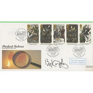 1993 Sherlock Holmes. Signed by Ben Kingsley.