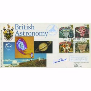 1990 British Astronomy. Signed by John Gielgud.