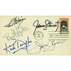 1969 US - Signed Astaire, Stewart, Cagney, Douglas and Hope