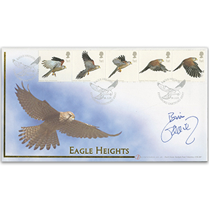 Bill Oddie Signed 2003 Birds of Prey Cover