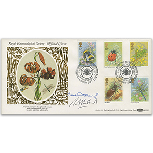 1985 Insects - Signed by Sir David Attenborough and One Other