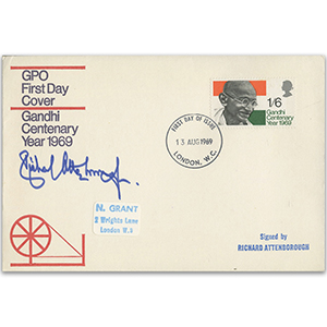 1969 Gandhi - Signed Richard Attenborough