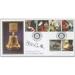 2005 Trooping - Rotary Official - Signed by Ester Rantzen
